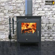 Nero Black 5kw Wood Burning Multi fuel, Wood Burner log fire Modern Stoves
