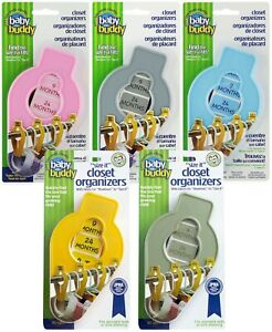 Baby Buddy Size It Closet Divider Organizers Baby, Toddler & Kids Clothes 33500