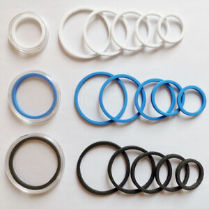 80 Adjustable Gasket Insert Mats Guard Rings 16-40mm For Coin Capsule Case Holer