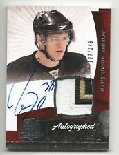 10-11 Nick Johnson The Cup Auto Rookie Card RC #135 Sweet Jersey Patch 127/249