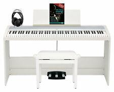 Korg B2SP WH Digitalpiano Deluxe Set 88 Tasten Ständer Bank Kopfhörer Weiß