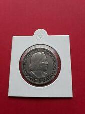 USA 1/2 Dollar 1893 - Kolumbus - Schiff - Weltausstellung SILBER