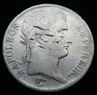 Napoléon 1er . 5 Francs 1813 M Toulouse , fautée