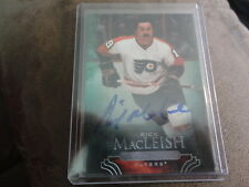 11-12 PARKHURST CHAMPIONS ON CARD AUTO RICK MACLEISH FLYERS