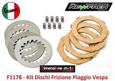 F1178 - Kit Dischi Frizione + Molle NEWFREN per Piaggio Vespa PX-E 200 dal 1998