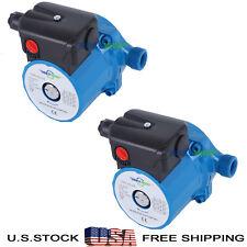 Lot of 2,110-120V Circulator Pump NPT3/4'' Hot Water Circulation Pump,3-Speed