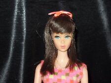 Vintage Mattel Twist N Turn Barbie Doll Bon Bon Black Hair TNT OSS 1960s