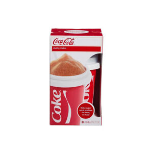 Chillfactor Slushy Maker Cup Coca-Cola Design Reusable with Straw & Lid Ages 3+