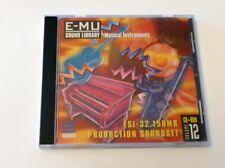 EMU e-mu muestreador sampling sample CD EIII-X ESI e4 production SoundSet Vol. 12