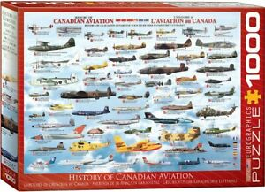 History of Canadian Aviation 1000-Piece Puzzle