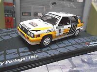 RENAULT 11 Turbo Gr.A Rallye Portugal TAP 1987 #4 Ragnotti IXO Altaya SP 1:43