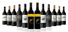 OVER 1500 SOLD! AU Red Mix Wine Incl 2 x Yellow Tail Shiraz (12x750ml) RRP189
