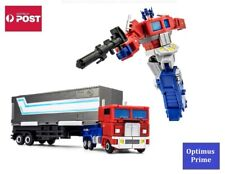 Transformers Autobot G1 Style Robot Toy - JINBAO Optimus Prime with Trailer