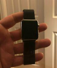 Apple Watch 42mm Stainless Steel Case Stainless Steel Milanese Loop -...