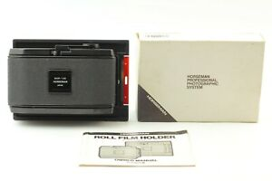 [TOP MINT IN BOX] Horseman 6exp 120 6x12 Panoramic Roll Film Holder From JAPAN