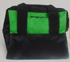 Snap On Canvas Tools Bag Brand New Extreme Green Measures 12 x 10 x 10 inches