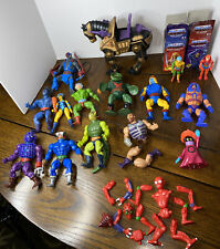 Vintage He Man Masters of the Universe MOTU 15 Figures Lot & Weapons Mattel 80s