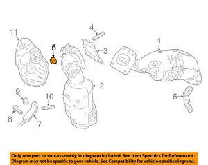 TOYOTA OEM Exhaust Manifold-Manifold Mount Nut 90178A0048