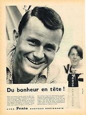 PUBLICITE ADVERTISING 124  1959  PENTO   brillantine