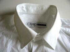 Olymp Masters Herren Hemd Langarm Weiß Unifarben KW42