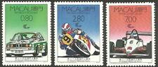 Macau - 35. Grand Prix von Macau Satz postfrisch 1988 Mi. 608-610