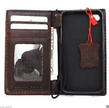 genuine oil real leather case for iphone 4s cover pouch s 4 book wallet stand iT
