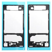 For Sony Xperia Z1 C6903 LCD Screen Frame Bezel Plate Adhesive Glue Black C6902
