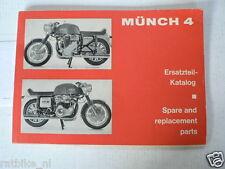 MÜNCH 4 1200 TTS ERSATZTEIL-KATALOG, SPARE & REPLACEMENT PARTS ORI 70'S A MUNCH