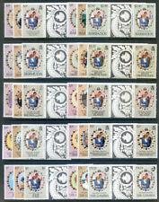 1981 Royal Wedding Crown Colonies set of 22 gutter pairs mint (2020/04/19#07)