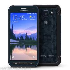 MINT Samsung Galaxy S6 Active SM-G890A UNLOCKED AT&T 32GB Samrtphone - CAMO BLUE