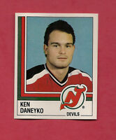 RARE 1987 PANINI # 76 DEVILS KEN DANEYKO ROOKIE STICKER   CARD