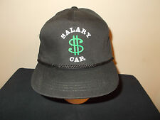 VTG-1990s Salary Cap Dollar Sign Pro Sports Contract Agent snapback hat sku20