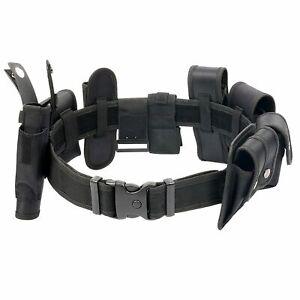 Police Security Guard  Duty Belt Law Enforcement Modular Equipment Set