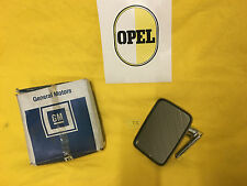 NEU + ORIG OPEL Kadett C Spiegel chrom Aussenspiegel links City Aero Limousine
