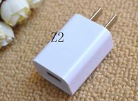 Genuine HOT 1A USB Power Adapter AC Wall Charger US Plug FOR iPhone 5 5S 6 iPod