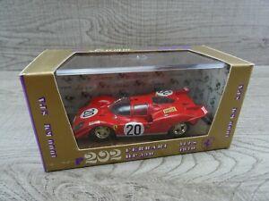 Brumm R202 Ferrari 512S 1000km Race SPA 1970 HP 550 Diecast Model Car 1:43 Scale