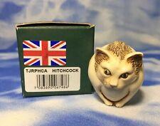 """New Uk Harmony Kingdom Roly Polys """"Hitchcock"""" Kitty Cat Box Figurine Tjrphca Nib"""