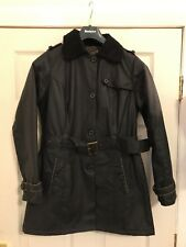 Barbour Ladies Dalmeny  Trench Size 14 New With Tags  Navy