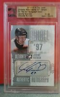 12-13 ITG Jeremy Roenick /29 Auto Ultimate To The Hall Flyers 2012