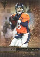 2014 Topps Triple Threads Football #26 Peyton Manning Denver Broncos
