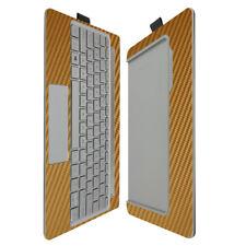 Skinomi Gold Carbon Fiber Skin for HP Envy 8 Note Keyboard Only