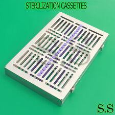 5 DENTAL SURGICAL AUTOCLAVE STERILIZATION CASSETTES FOR 20 INSTRUMENTS ST-002