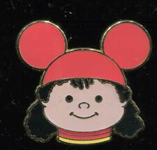 Small World Mystery Tin Collection Girl with Orange Ears LE Disney Pin 61055