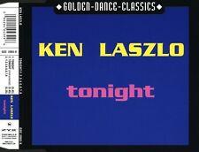 Ken Laszlo Maxi CD Tonight / 1.2.3.4.5.6.7.8 - Germany (M/M)
