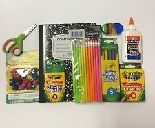 Crayola Back to School Supplies Kit Bundle Lot Grades K-6