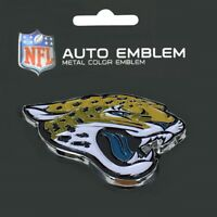 Jacksonville Jaguars Heavy Duty Metal 3-D Color Auto Emblem