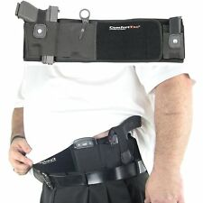 XL Ultimate Belly Band Holster For Concealed Carry-Black-Fits Gun Smith New