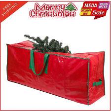 9 Foot Christmas Tree Storage Bag Box BIn Protect Handles Heavy Duty Artificial