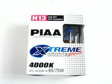 PIAA H13/9008 Xtreme White Plus Halogen Headlight Bulbs Twin Pack 4000K
