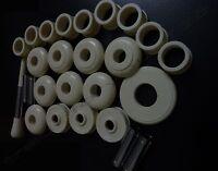 Scottish Bagpipes Full set 27-Pcs Mounts Imitation Off-white Colour